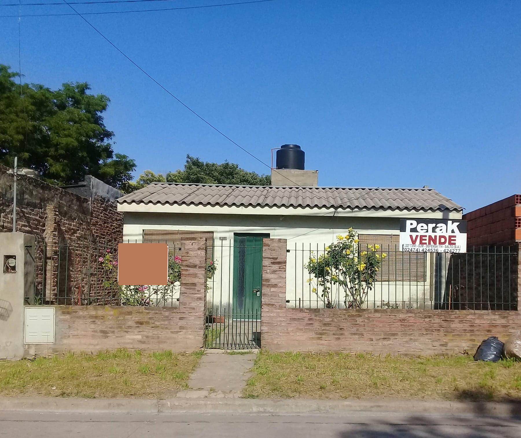casa mas terreno en calle Pueyrredon