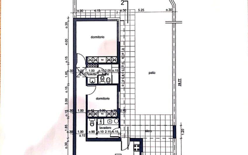 en venta lote de terreno en calle Almirante Brown 288 Salto B